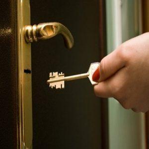 abrir porta