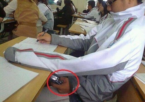 copiar exame