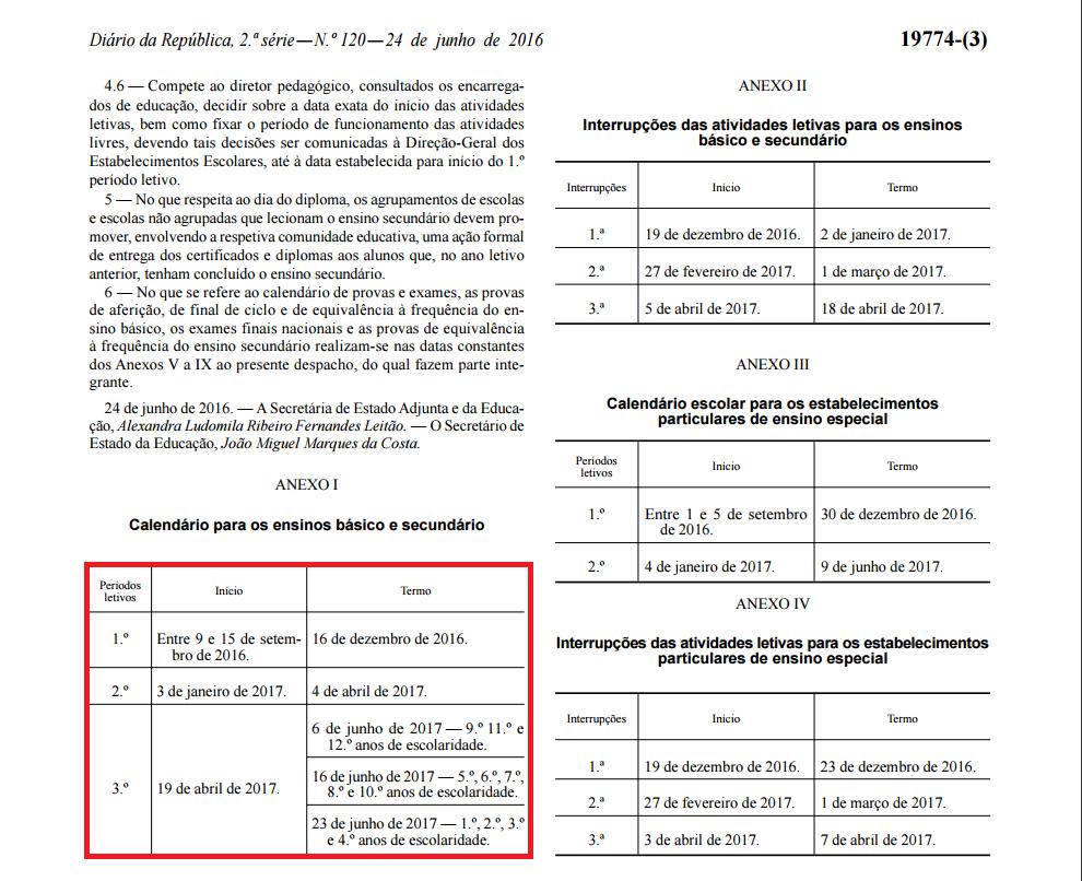 Calendario 20017.Calendario Escolar 2016 2017 Comregras