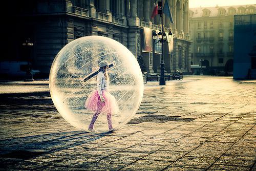 bolha protetora
