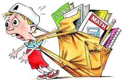 peso das mochilas