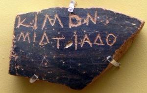 "Ostrakon - ""o boletim de voto"" na Grécia antiga"