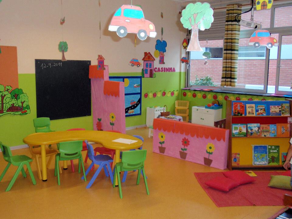 sala do pré-escolar