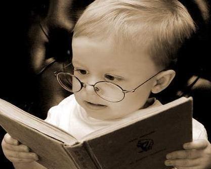 criança a ler