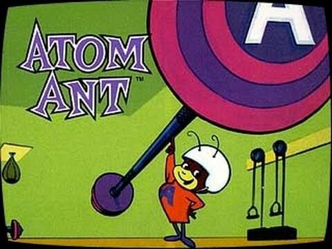 formiga atómica