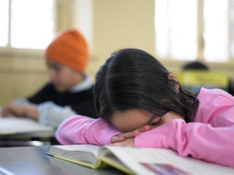 dormir na aula