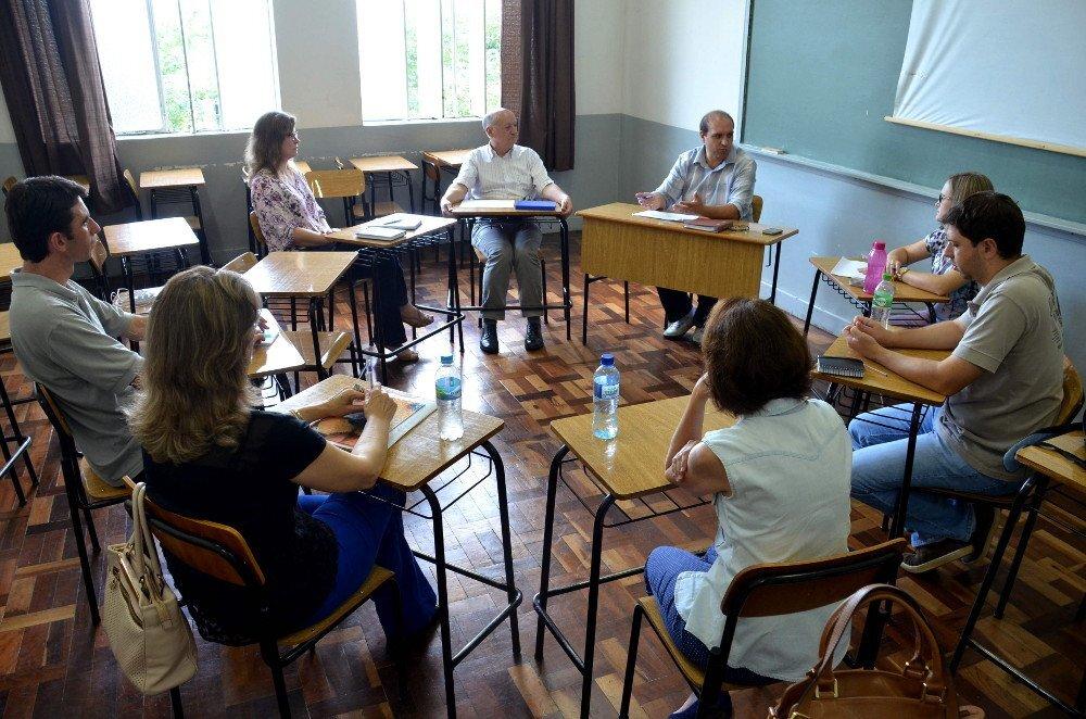 reunião de professores