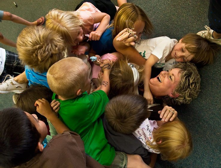 abraço professora