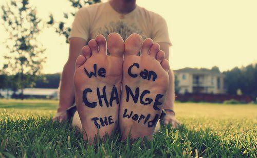 mudar o mundo