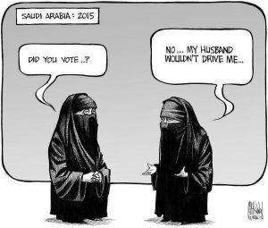 Conduzir na Arábia Saudita